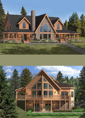 Bethel Country Builders Green Homes Custom Log Homes